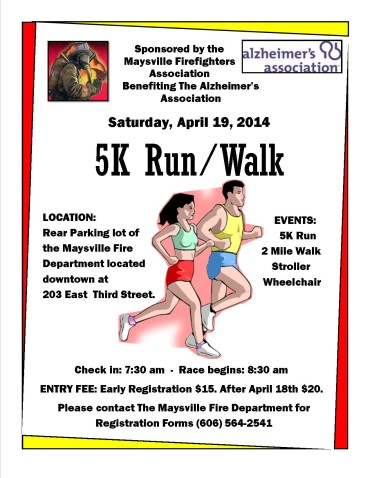 5k Firefighters & Alzhhimers Association2014