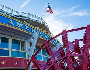 The American Queen Docks in Maysville @ Limestone Landing | Maysville | Kentucky | United States