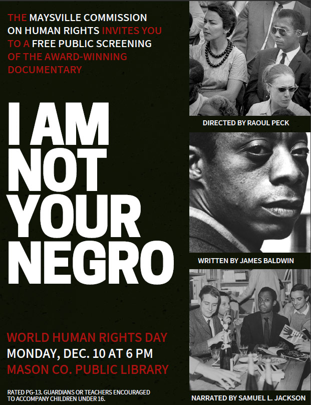 I Am Not Your Negro graphic