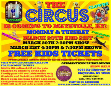 Circus Fantazia @ Germantown Fairgrounds  | Maysville | Kentucky | United States