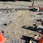 Repair work on Sutton Street