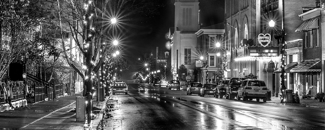 Winter in Maysville By Amanda Hankinson