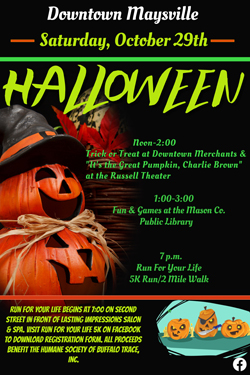 Downtown Maysville Halloween @ Maysville | Kentucky | United States