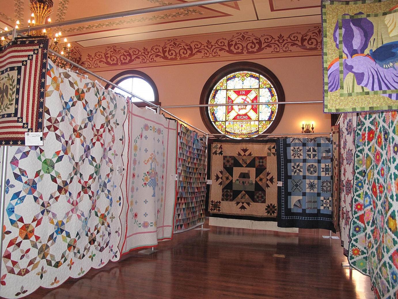 The Maysville Quilt Gathering Event at the Cox Building