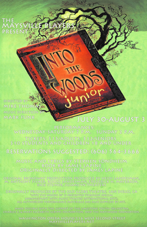 Into The Woods Poster 2014