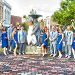 MMM Wallingford Bridal Party on Market Street