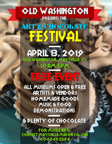 Washington Art & Chocolate Festival @ Old Washington | Maysville | Kentucky | United States