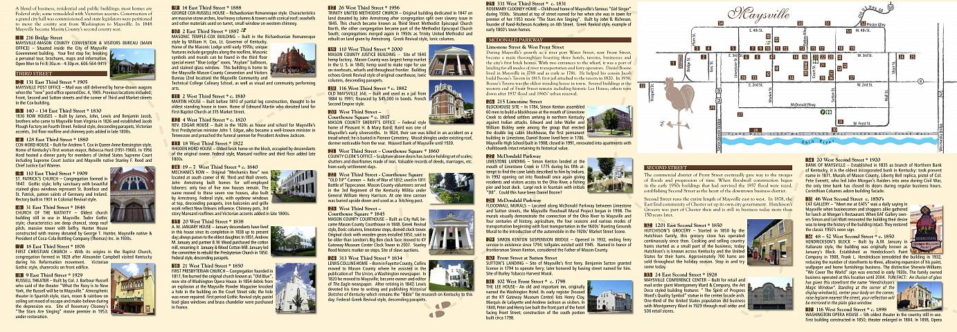 Walking Tour Brochure Section 2