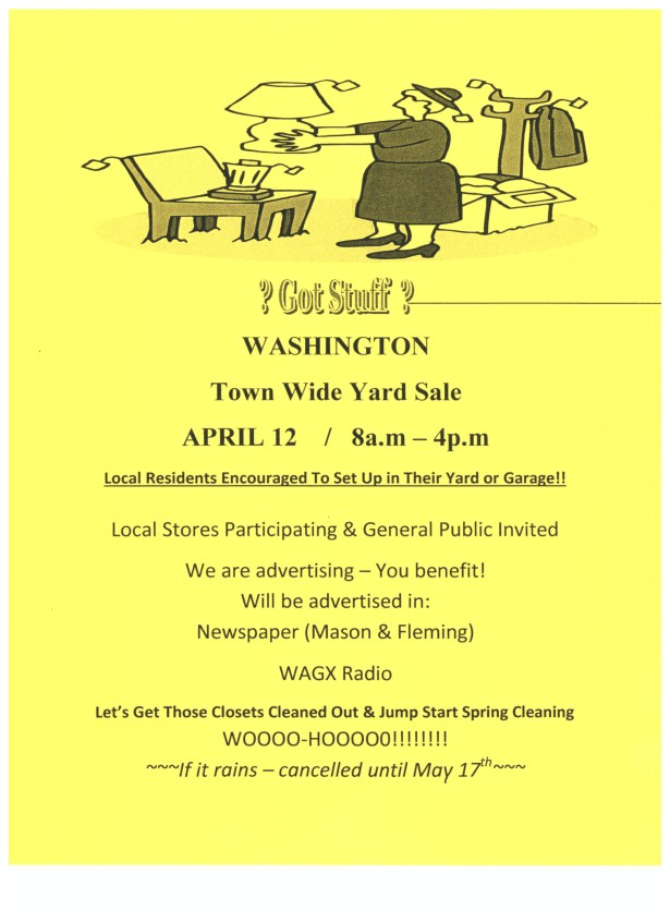 Washington Yard Sale