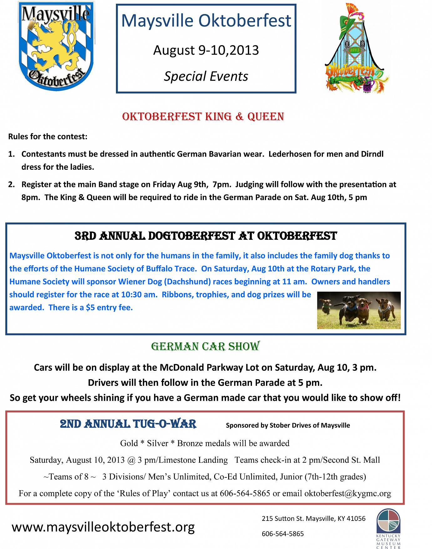 oktoberfest special events2013
