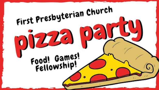 1st Presbyterian Pizza Party