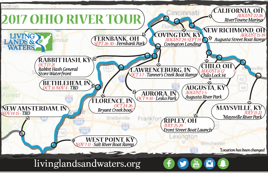 Ripley Ohio Map.River Clean Up Map City Of Maysville