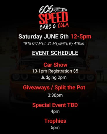 606 Speed Cars & Cola @ Maysville Brewing Co