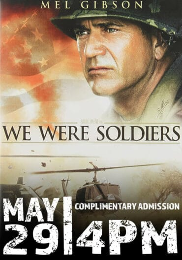 """Special Showing of """"We Were Soldiers"""" @ The Russell Theatre"""