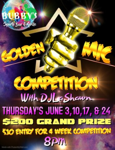 Golden Mic Competition @ Bubby's Sports Bar & Grille
