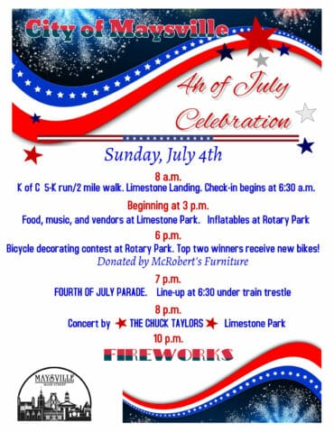 July 4th Downtown @ Downtown Maysville, KY