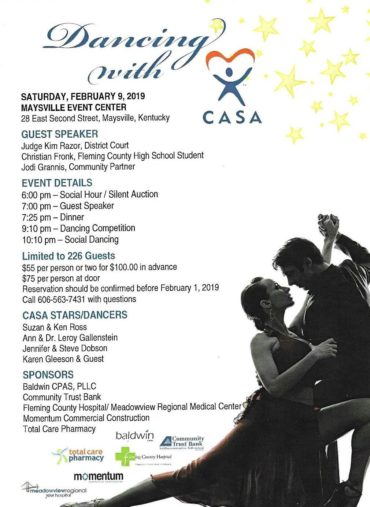 Dancing with CASA Fundraiser @ Maysville Event Center | Maysville | Kentucky | United States