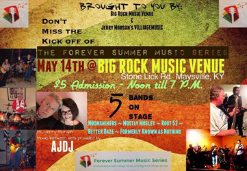 The Forever Summer Music Series @ Big Rock Music Venue   Maysville   Kentucky   United States