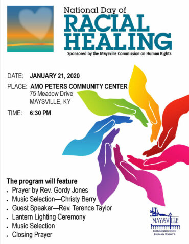 Day of Racial Healing flyer