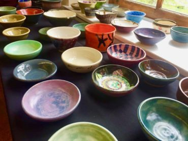 ORVAG Empty Bowls Fundraiser @ The Cox Building Art Gallery