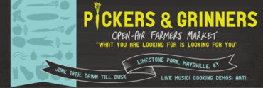 Picker's and Grinner's Downtown Maysville Open Air Market @ Limestone Parc - Next to The Parc Cafe | Maysville | Kentucky | United States