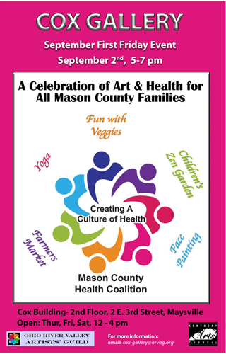 """ORVAG Presents """"Creating a Culture of Health"""" @ The Cox Building Gallery 