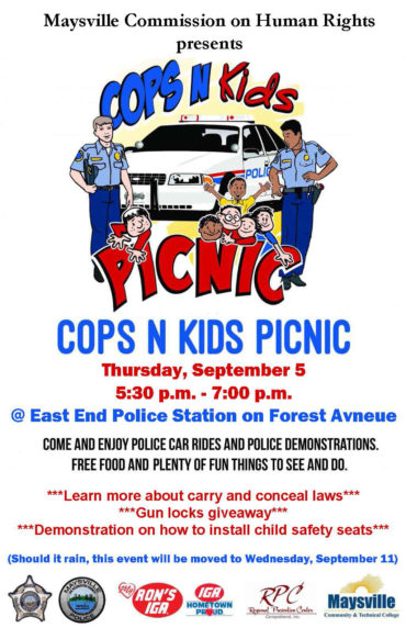 Kids and Cops flyer