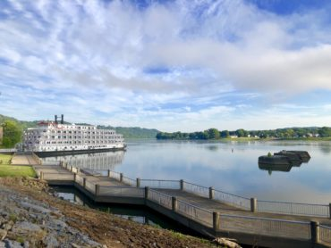 Queen of the Mississippi Docking in Maysville @ Limestone Landing | Maysville | Kentucky | United States