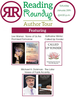 Author Roundup with Lee Warner, Katherine Winter, & Michael H. Dickman @ Mason County Public Library | Maysville | Kentucky | United States