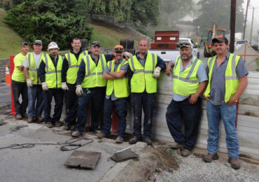 Public Works Project Crew