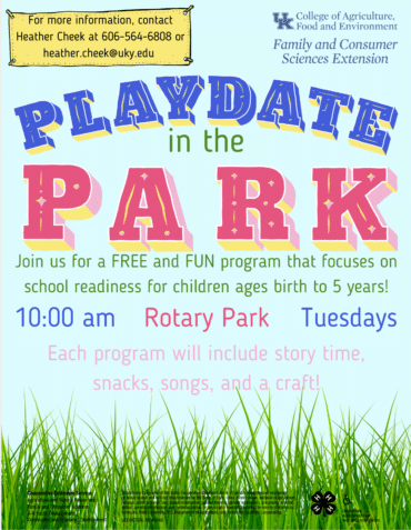 Playdate in the Park @ Rotary Park