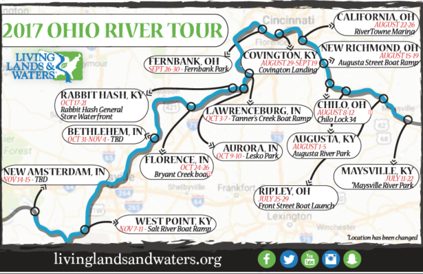 River Clean Up Map